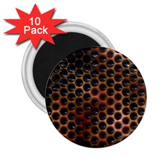 Beehive Pattern 2.25  Magnets (10 pack)