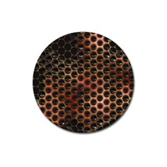 Beehive Pattern Magnet 3  (Round)