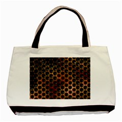 Beehive Pattern Basic Tote Bag (Two Sides)