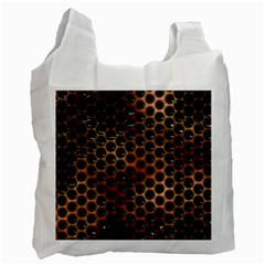 Beehive Pattern Recycle Bag (One Side)