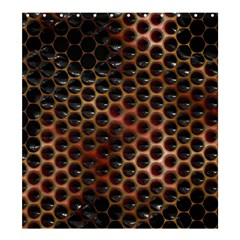 Beehive Pattern Shower Curtain 66  x 72  (Large)