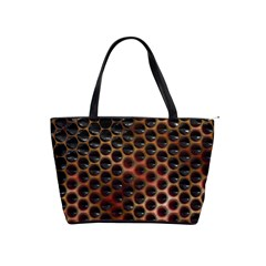 Beehive Pattern Shoulder Handbags