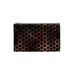 Beehive Pattern Cosmetic Bag (Small)