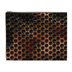 Beehive Pattern Cosmetic Bag (XL)