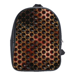 Beehive Pattern School Bags(Large)