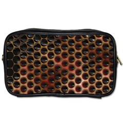 Beehive Pattern Toiletries Bags 2-Side