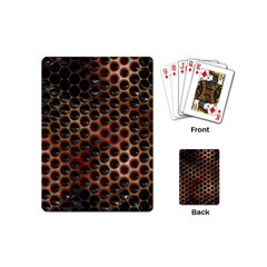 Beehive Pattern Playing Cards (mini)