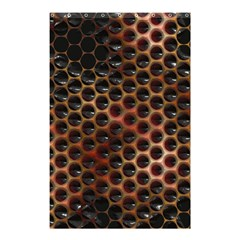 Beehive Pattern Shower Curtain 48  x 72  (Small)
