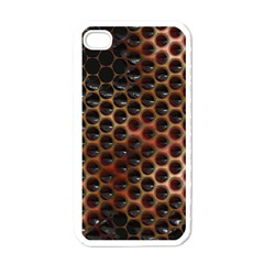 Beehive Pattern Apple iPhone 4 Case (White)