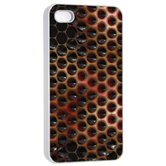 Beehive Pattern Apple iPhone 4/4s Seamless Case (White)