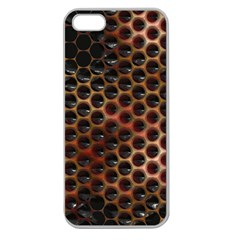 Beehive Pattern Apple Seamless Iphone 5 Case (clear)