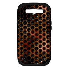 Beehive Pattern Samsung Galaxy S III Hardshell Case (PC+Silicone)