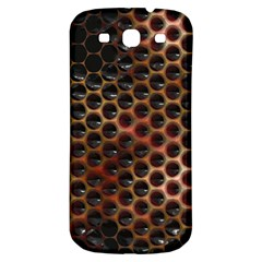 Beehive Pattern Samsung Galaxy S3 S III Classic Hardshell Back Case