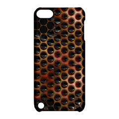 Beehive Pattern Apple iPod Touch 5 Hardshell Case with Stand