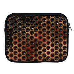 Beehive Pattern Apple iPad 2/3/4 Zipper Cases