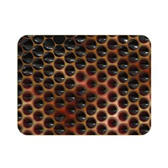 Beehive Pattern Double Sided Flano Blanket (mini)