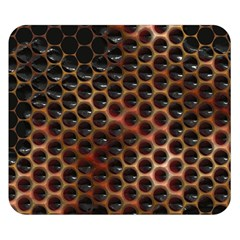 Beehive Pattern Double Sided Flano Blanket (Small)