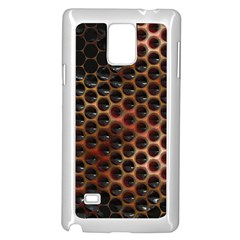 Beehive Pattern Samsung Galaxy Note 4 Case (white)