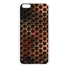Beehive Pattern Apple Seamless iPhone 6 Plus/6S Plus Case (Transparent)