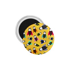 Bees Animal Pattern 1.75  Magnets