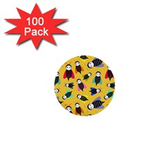 Bees Animal Pattern 1  Mini Buttons (100 pack)