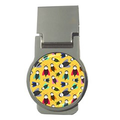 Bees Animal Pattern Money Clips (Round)