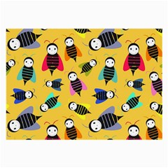 Bees Animal Pattern Large Glasses Cloth