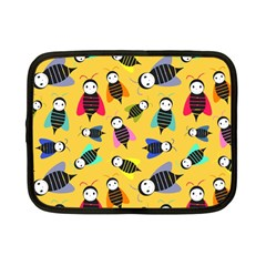 Bees Animal Pattern Netbook Case (Small)