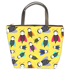 Bees Animal Pattern Bucket Bags