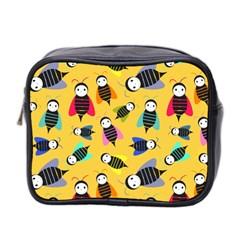 Bees Animal Pattern Mini Toiletries Bag 2-Side