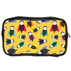 Bees Animal Pattern Toiletries Bags 2-Side