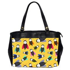 Bees Animal Pattern Office Handbags (2 Sides)