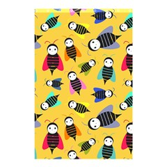 Bees Animal Pattern Shower Curtain 48  x 72  (Small)