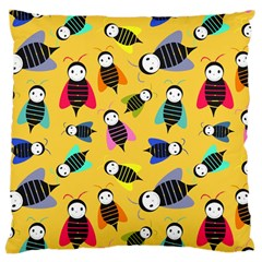 Bees Animal Pattern Large Cushion Case (two Sides)