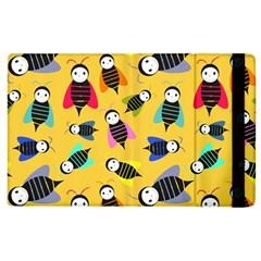 Bees Animal Pattern Apple Ipad 3/4 Flip Case