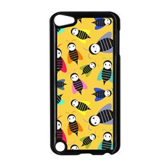 Bees Animal Pattern Apple iPod Touch 5 Case (Black)
