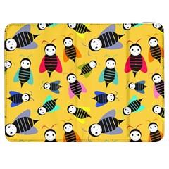 Bees Animal Pattern Samsung Galaxy Tab 7  P1000 Flip Case
