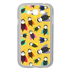 Bees Animal Pattern Samsung Galaxy Grand Duos I9082 Case (white)