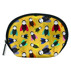 Bees Animal Pattern Accessory Pouches (Medium)