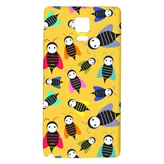 Bees Animal Pattern Galaxy Note 4 Back Case
