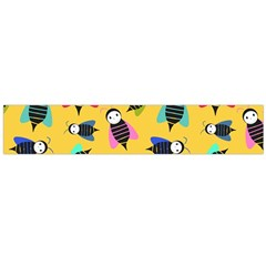 Bees Animal Pattern Flano Scarf (large)