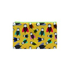 Bees Animal Pattern Cosmetic Bag (xs)