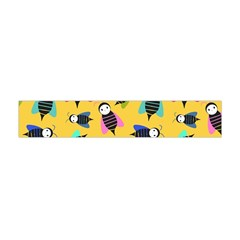 Bees Animal Pattern Flano Scarf (Mini)