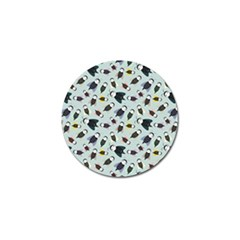 Bees Animal Pattern Golf Ball Marker (4 Pack)