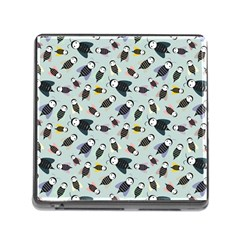 Bees Animal Pattern Memory Card Reader (Square)