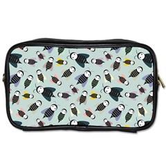 Bees Animal Pattern Toiletries Bags 2-Side