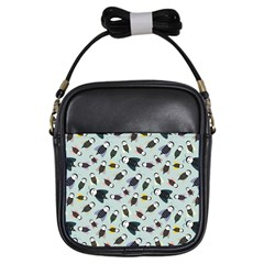 Bees Animal Pattern Girls Sling Bags