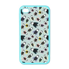 Bees Animal Pattern Apple iPhone 4 Case (Color)