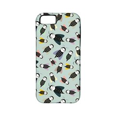 Bees Animal Pattern Apple iPhone 5 Classic Hardshell Case (PC+Silicone)