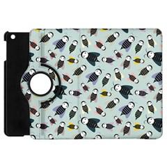 Bees Animal Pattern Apple Ipad Mini Flip 360 Case